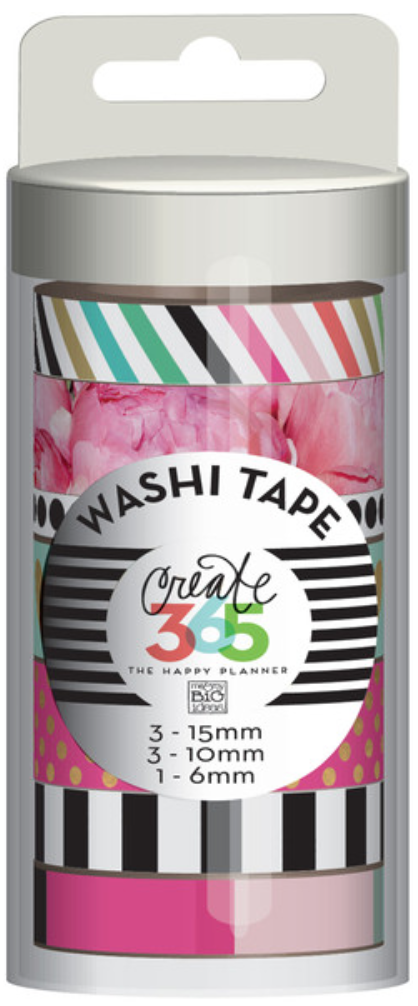 'Peony' Washi Tape for Create 365™ The Happy Planner™ | me & my BIG ideashttp://shop.meandmybigideas.com/collections/create-365/products/peony-florals
