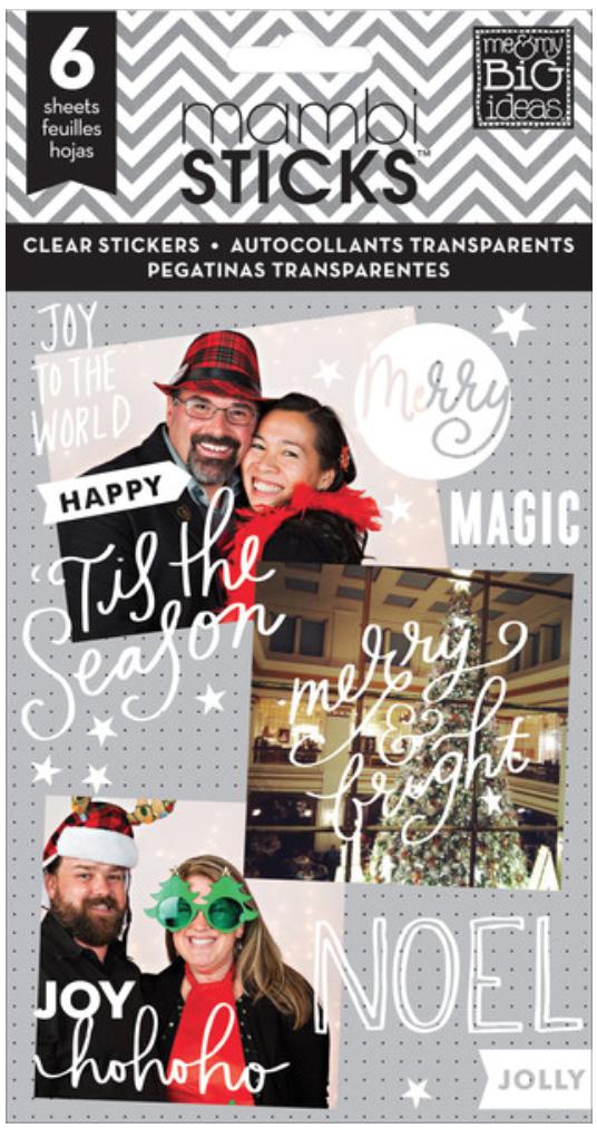 'Joy to the World' mambiSTICKS sticker pad | me & my BIG ideas