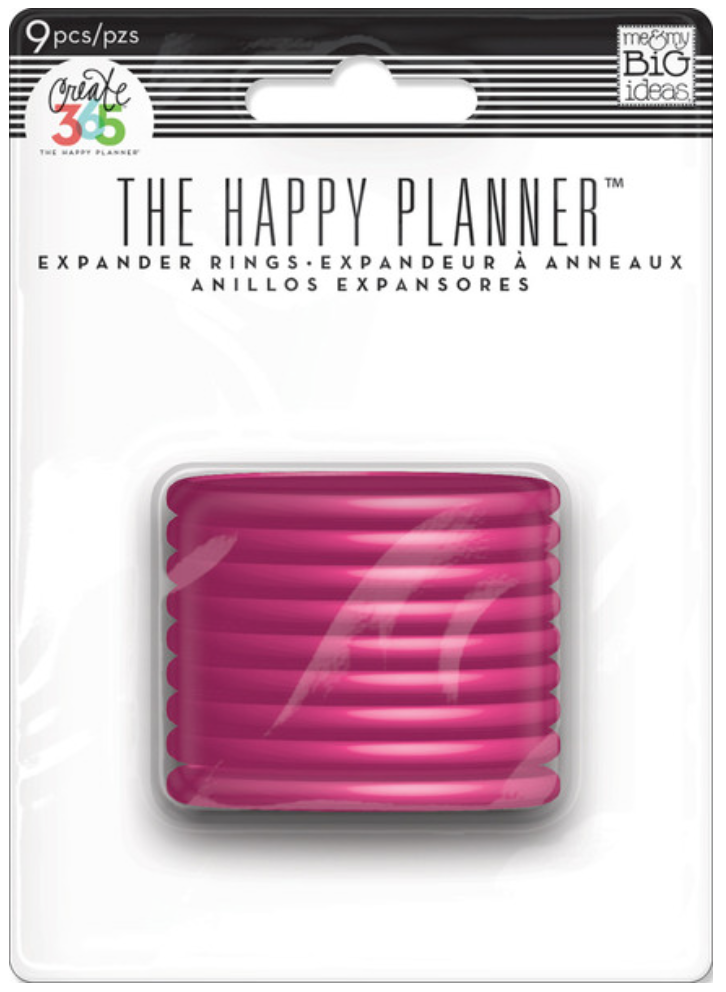 Pink Expander Rings for The Happy Planner™ | me & my BIG ideas
