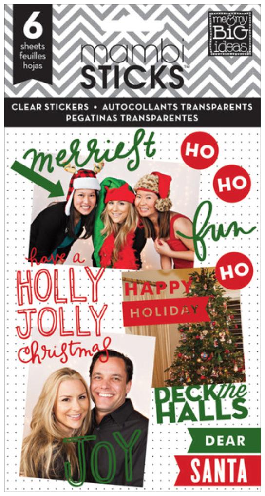 Holly Jolly Christmas mambiSTICKS sticker value pack | me & my BIG ideas