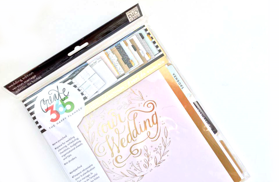 The Happy Planner™ Wedding Planner Extension Pack available on the shop January 1, 2016 | me & my BIG ideas
