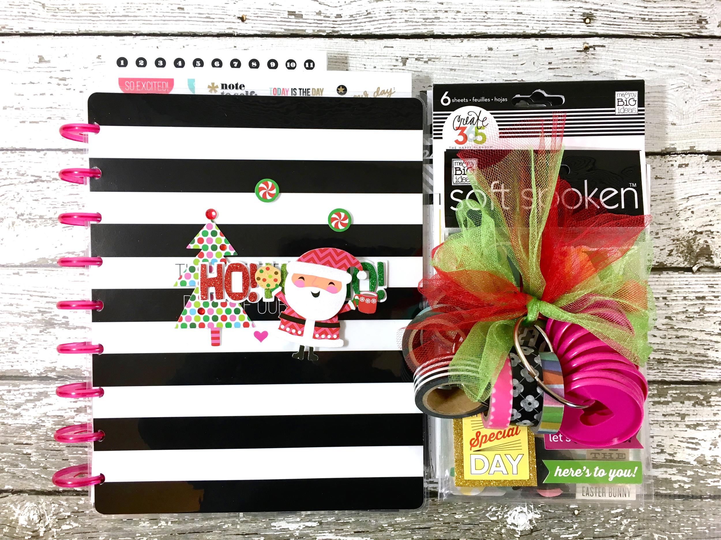 a Happy Planner™ Christmas gift by mambi Design Team member Mary-Ann Maldonado | me & my BIG ideas
