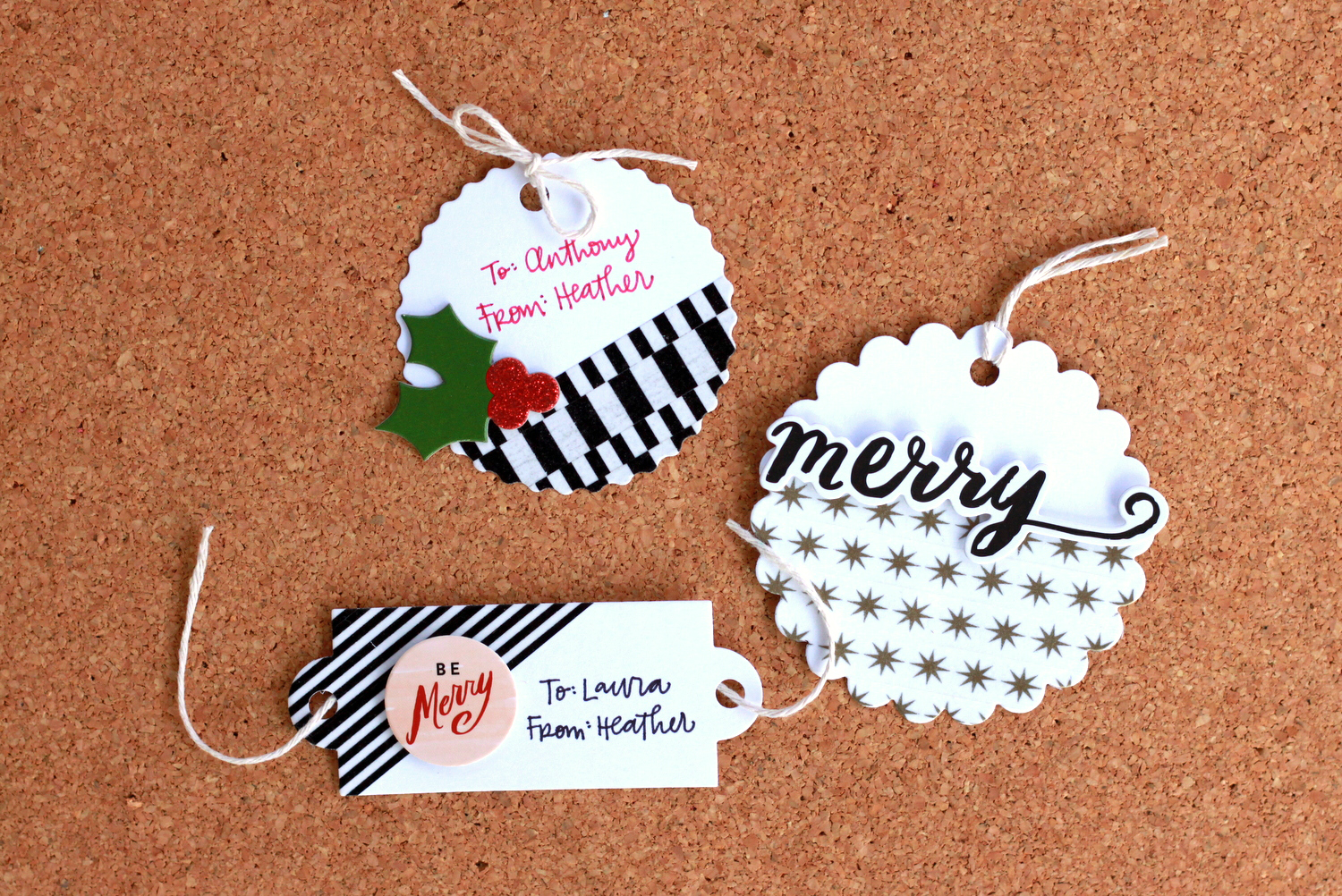 Christmas Gift Tags Ideas.Holiday Craft Washi Tape Dipped Gift Tags Me My Big