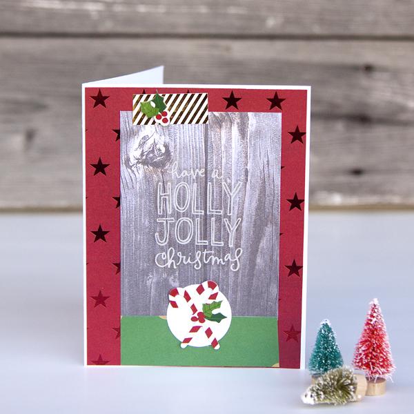 two Christmas Cards by mambi Design Team member Jennie McGarvey   me & my BIG ideas