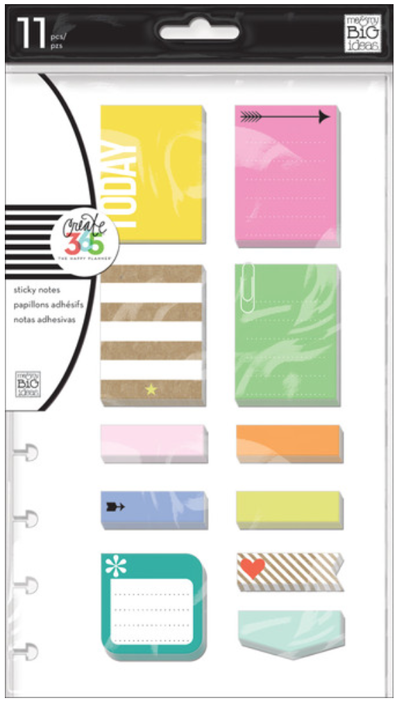 'Happy' sticky notes for The Happy Planner™ | me & my BIG ideas