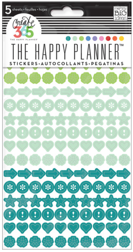 'Colorful Dots' stickers for The Happy Planner™ | me & my BIG ideas