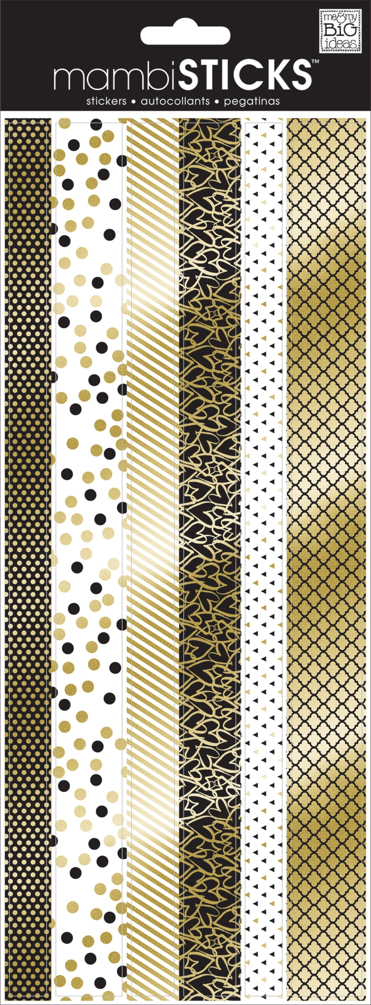 Black & Gold mambiSTICKS boarder stcikers | me & my BIG ideas.jpg
