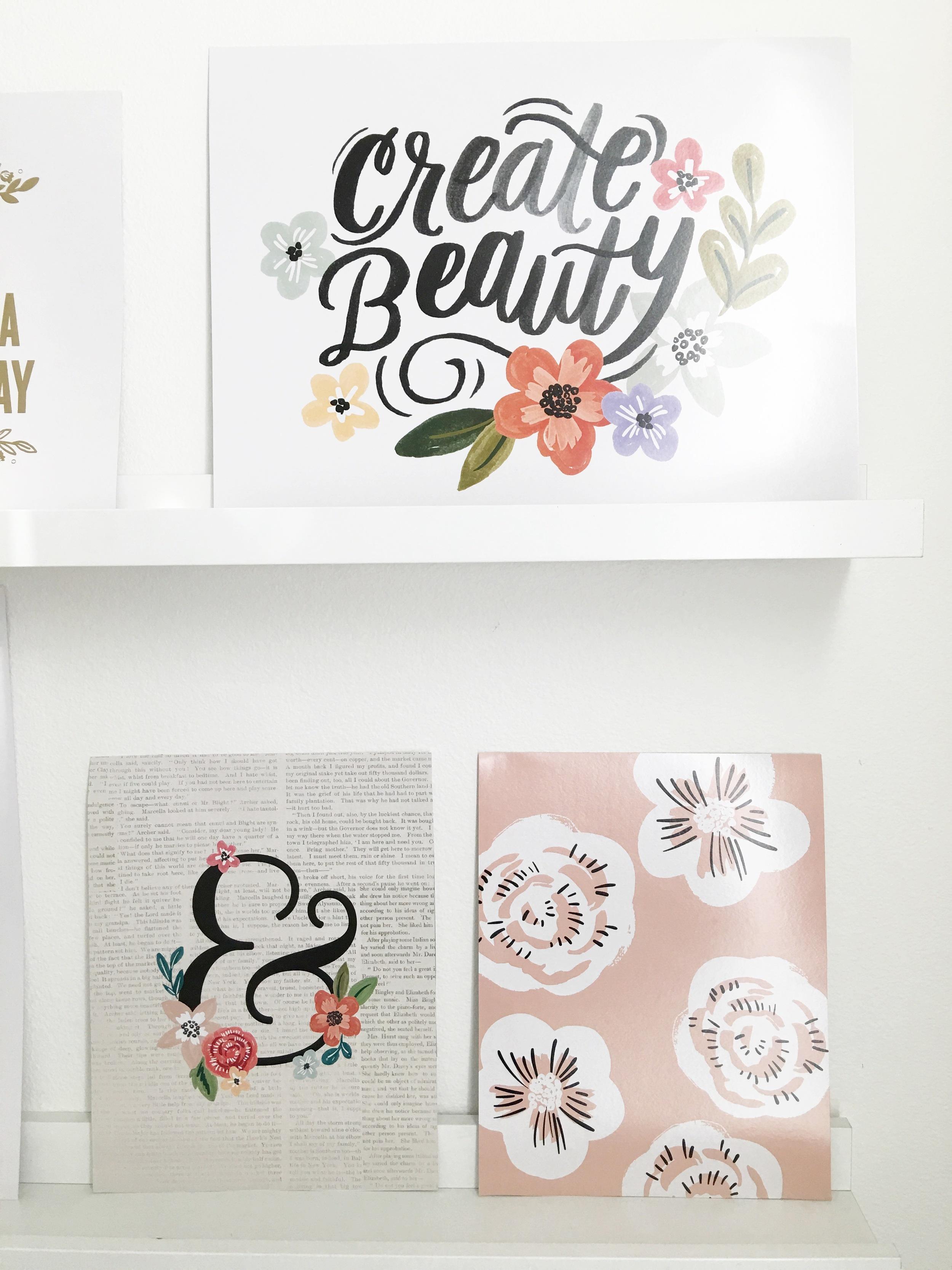 'Savannah' DIY Gallery Art Pad in the craftroom of mambi Design Team member Thuy Bui | me & my BIG ideas
