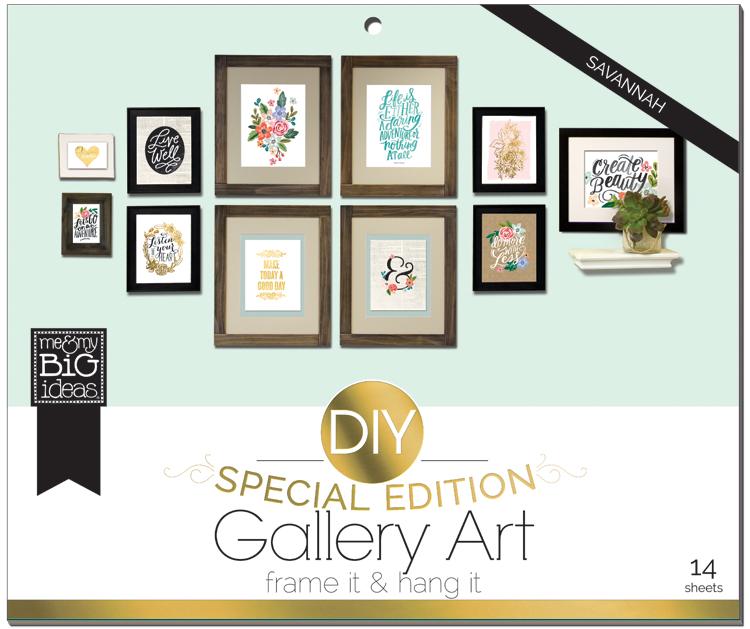 'Savannah' DIY Gallery Art Pad | me & my BIG ideas.jpg