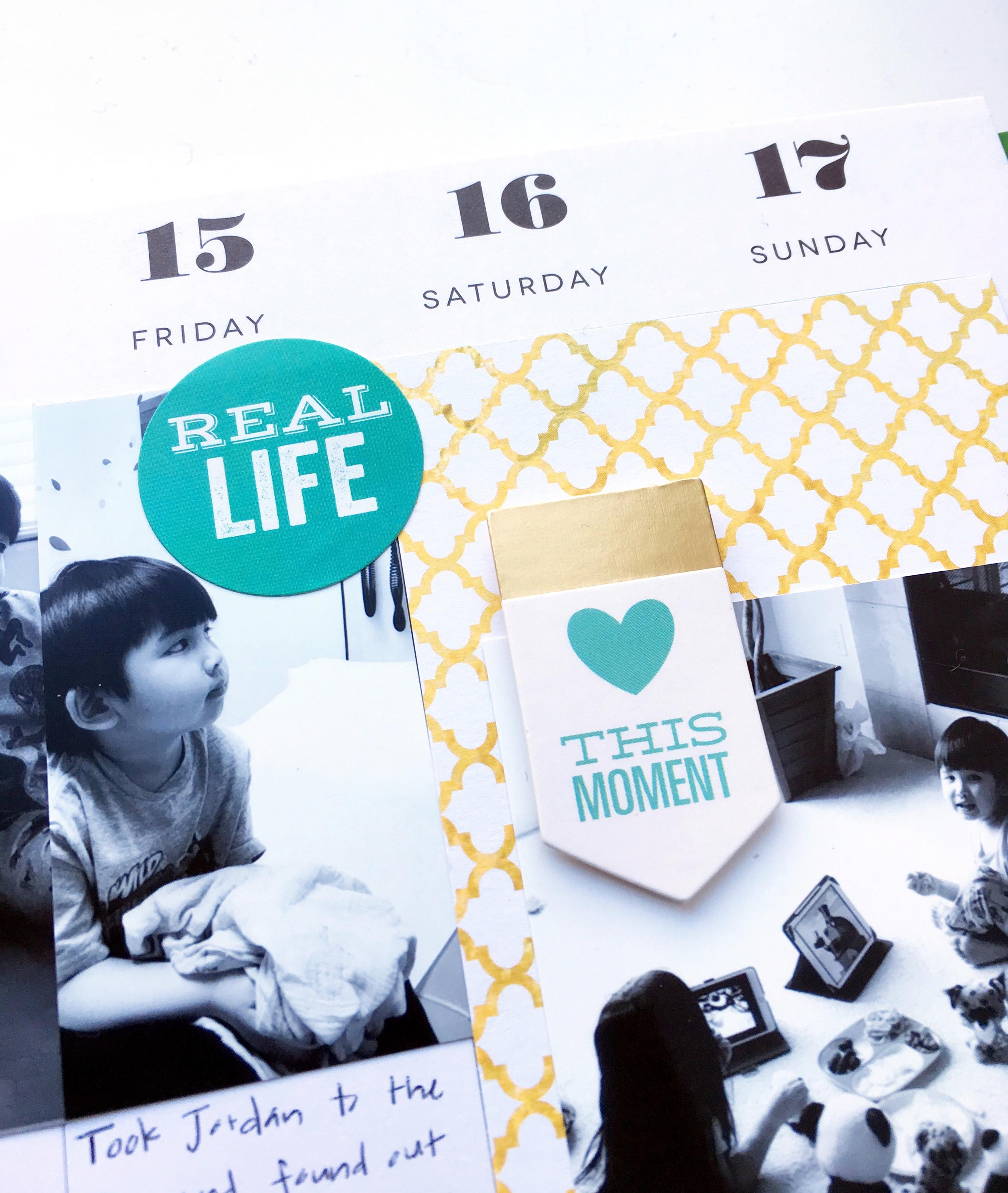 last week in January in The Happy Planner™ of mambi Design Team member Theresa Doan | me & my BIG ideas
