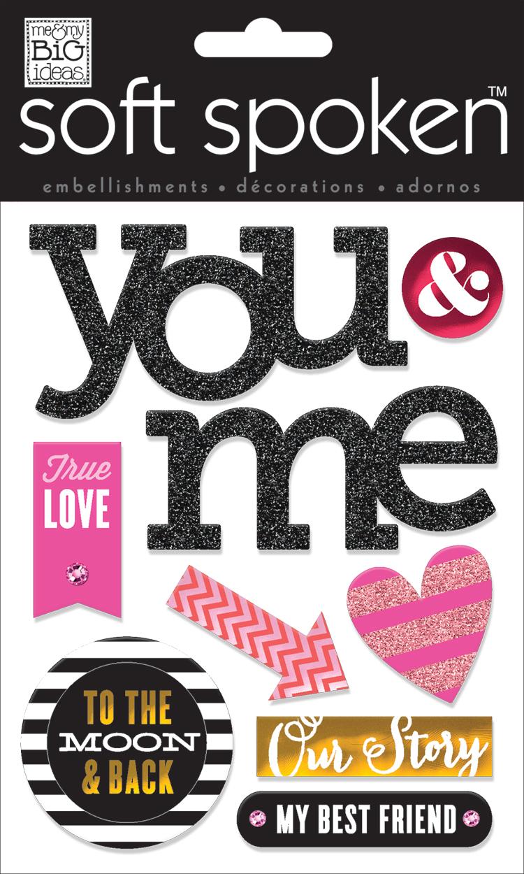 'True Love' SOFT SPOKEN™ dimensional stickers | me & my BIG ideas.jpg