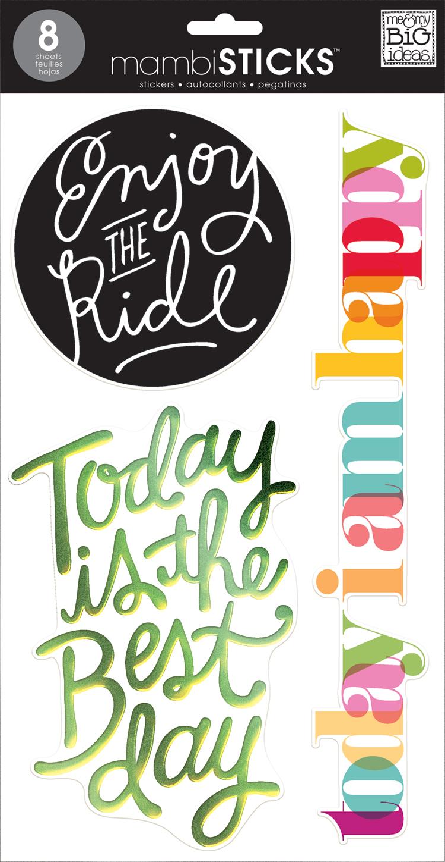 'Today' JUMBO mambikSTICKS big sticker pack | me & my BIG ideas.jpg