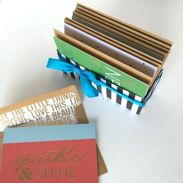 stationery gift set created by mambi Design Team member Janna Wilson | me & my BIG ideas
