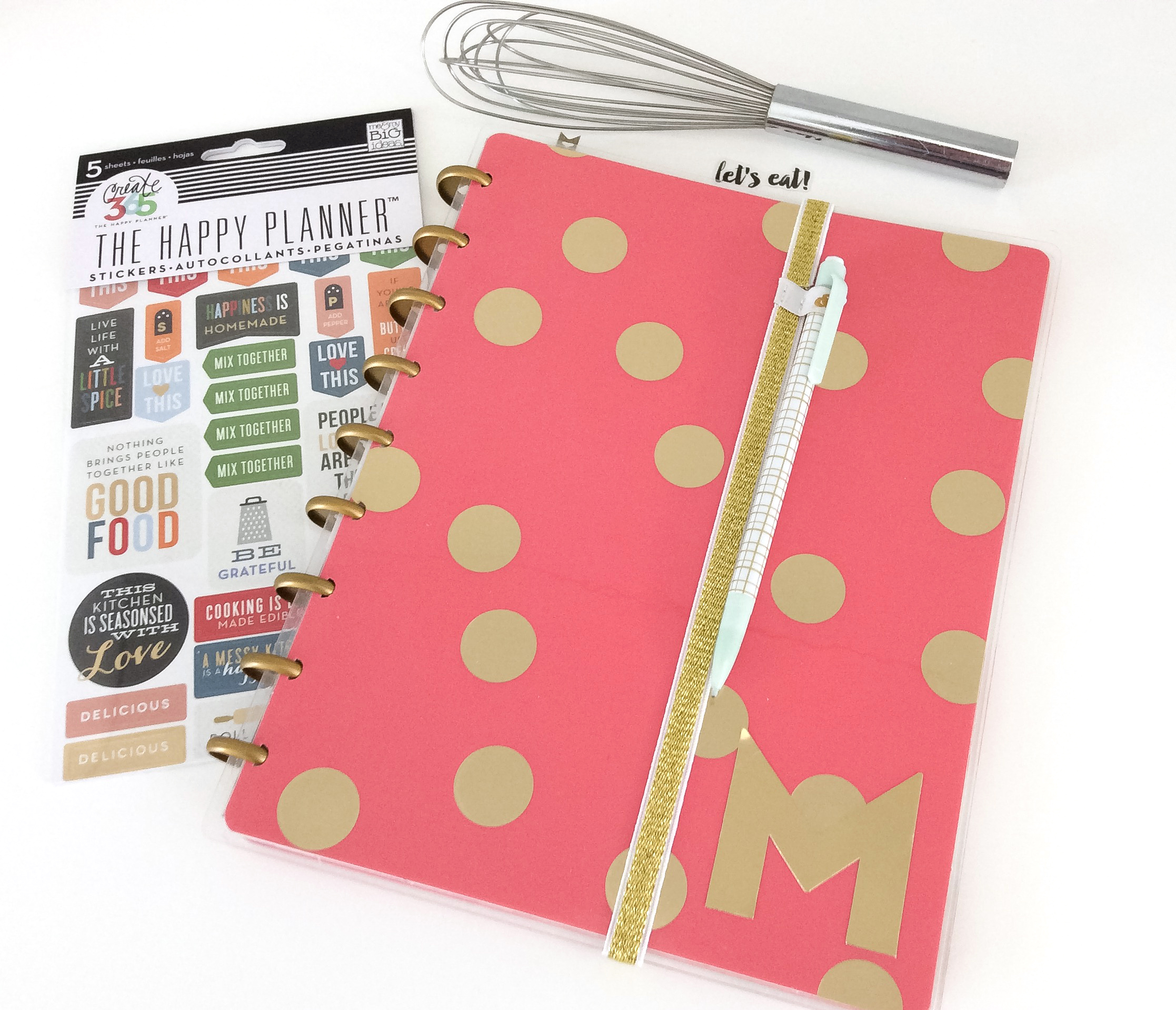 a mini disc Recipe Book by mambi Design Team member Jen Randall | me & my BIG ideas