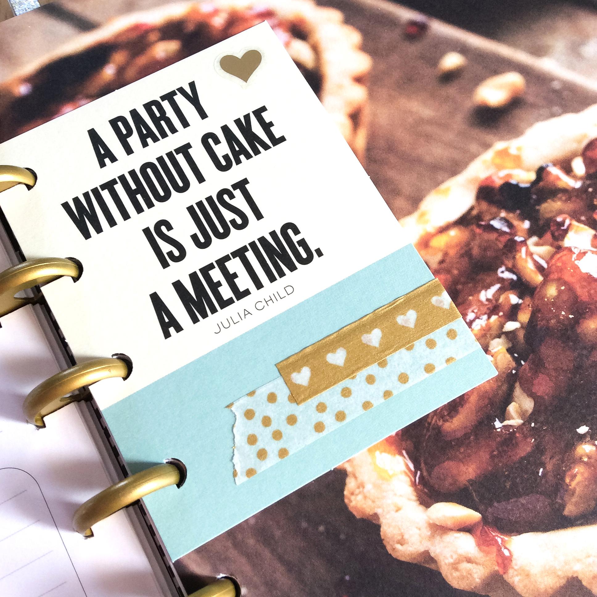a mini disc Recipe Book by mambi Design Team member Jen Randall | me & my BIG ideas