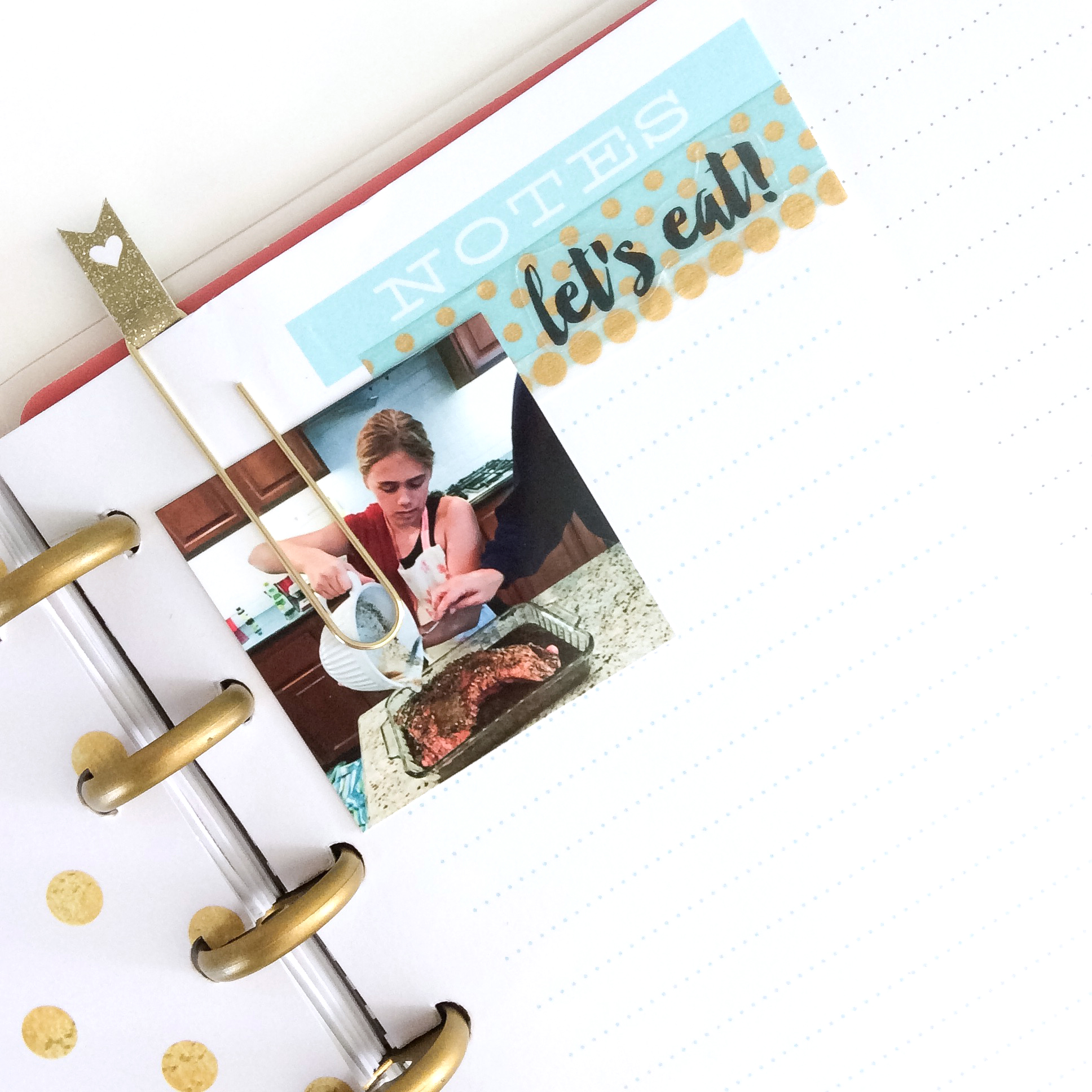 a mini disc Recipe Book by mambi Design Team member Jen Randall   me & my BIG ideas