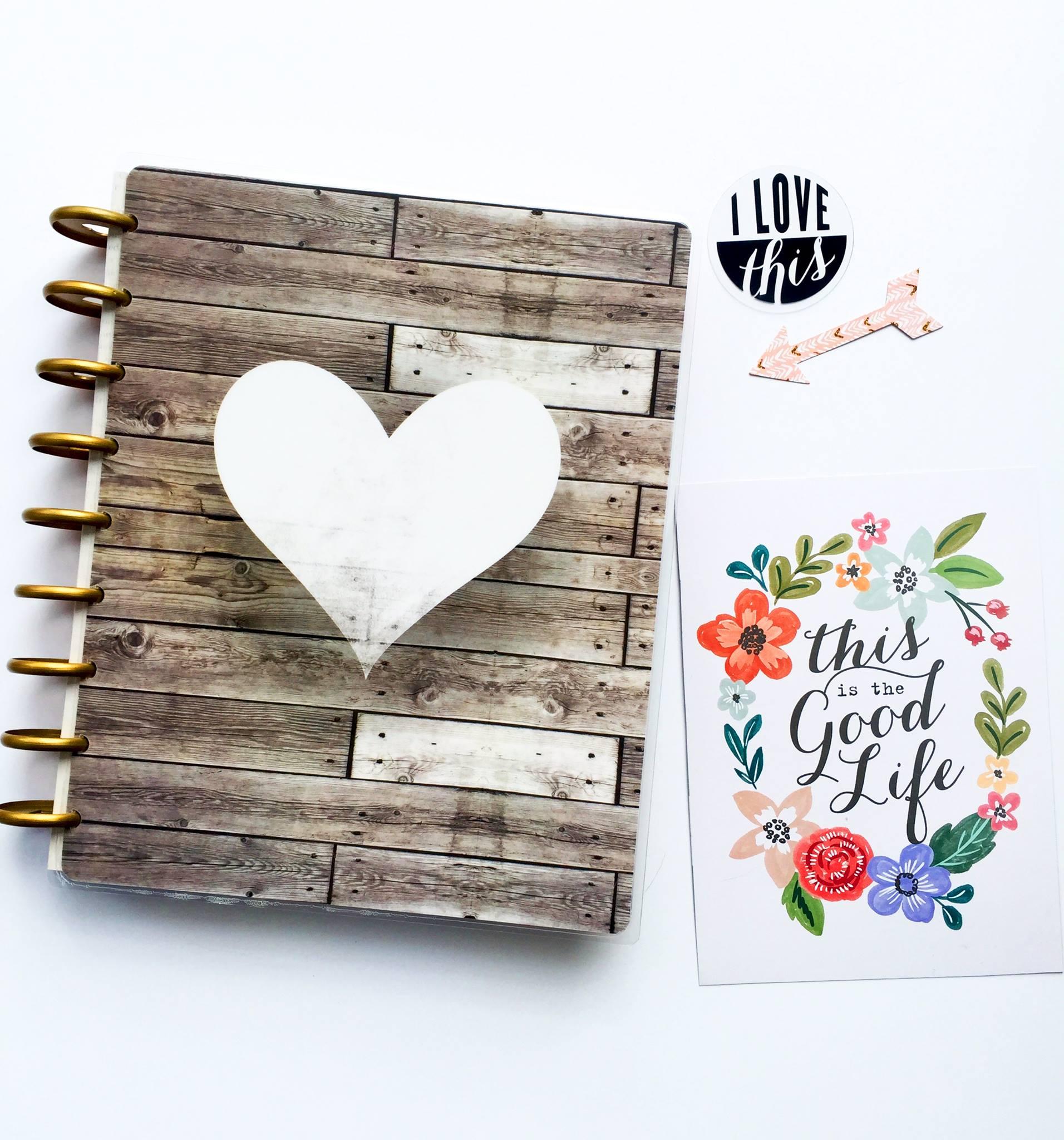 the new 2016-2017 'Fresh Florals' Happy Planner™ talk-through by mambi Design Team member Megan McKenna for the Design Team Happy Planner™ BLOG HOP | me & my BIG ideas