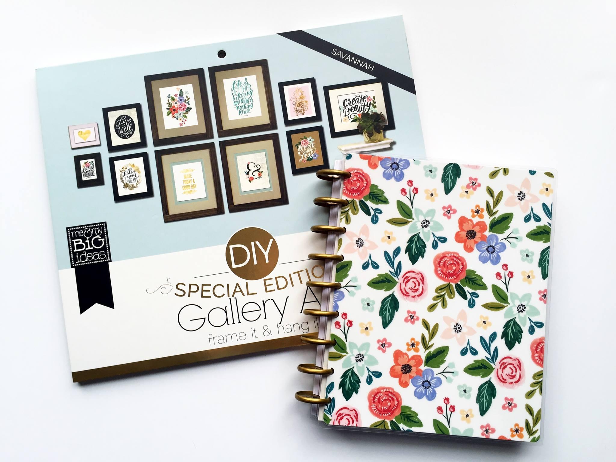 the new 2016-2017 'Fresh Florals' Happy Planner? talk-through by mambi Design Team member Megan McKenna for the Design Team Happy Planner? BLOG HOP | me & my BIG ideas