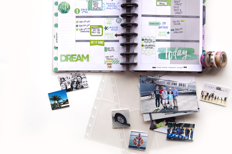 using The Happy Planner? as a 'Year in the Life' album by mambi Design Team member Jennie McGarvey   me & my BIG ideas