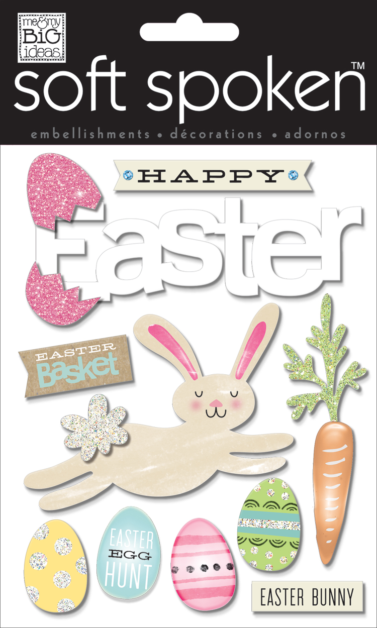'Easter Basket' SOFT SPOKEN™ dimensional embellishment stickers | me & my BIG ideas.jpg