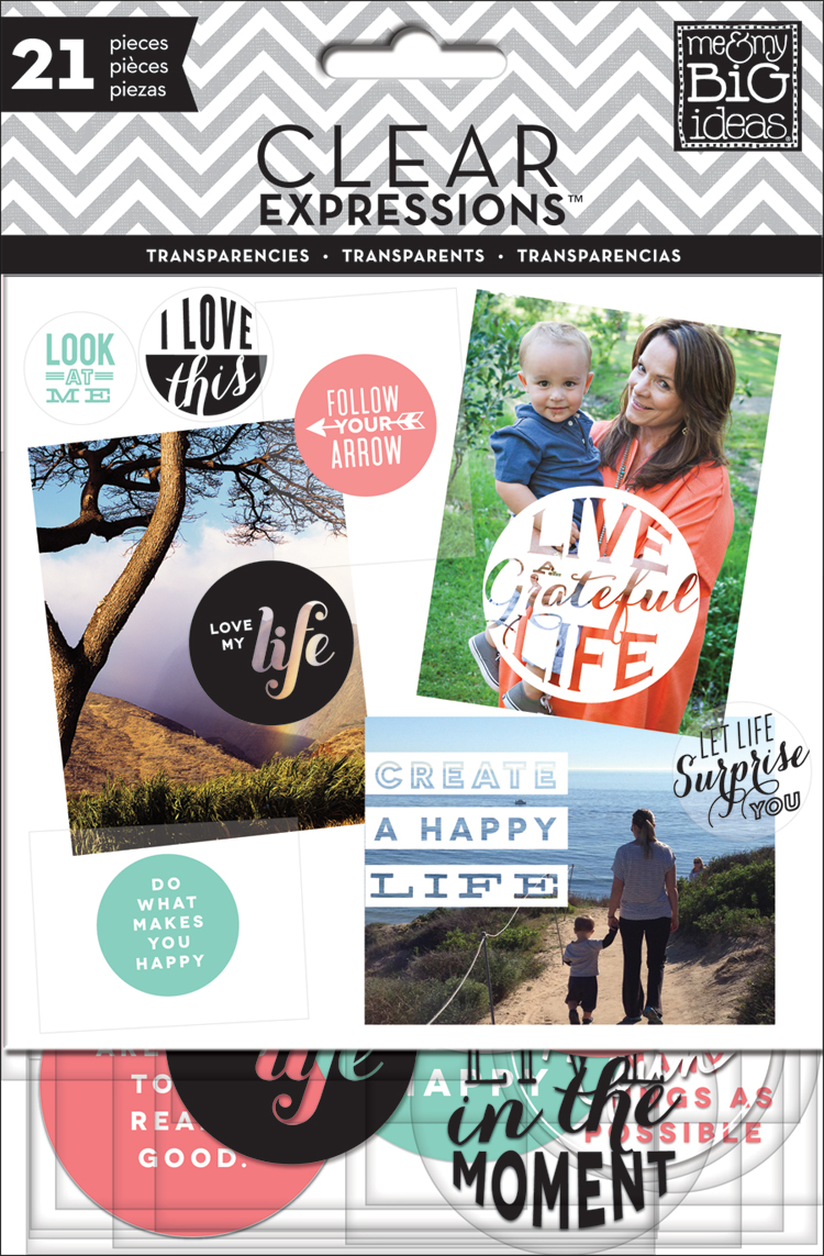 'Create a Happy Life' Clear Expressions Transparencies | me & my BIG ideas.jpg