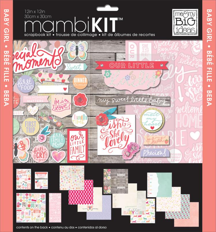 'Baby Girl' mambiKIT scrapbooking kit   me & my BIG ideas.jpg
