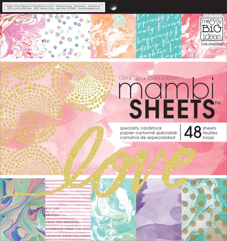 'Modern Marble' 12x12 mambiSHEETS paper pad | me & my BIG ideas.jpg