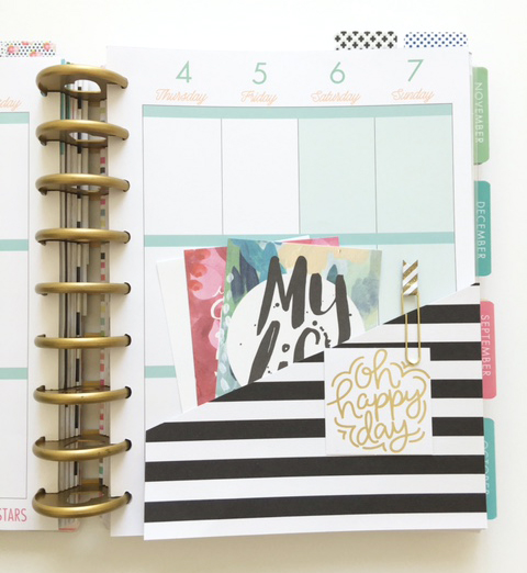 DIY Pocket Folder for The Happy Planner™ created by mambi Design Team member Thuy Bui | me & my BIG ideas