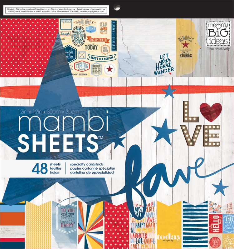 'Americana' 12x12 mambiSHEETS paper pad | me & my BIG ideas.jpg