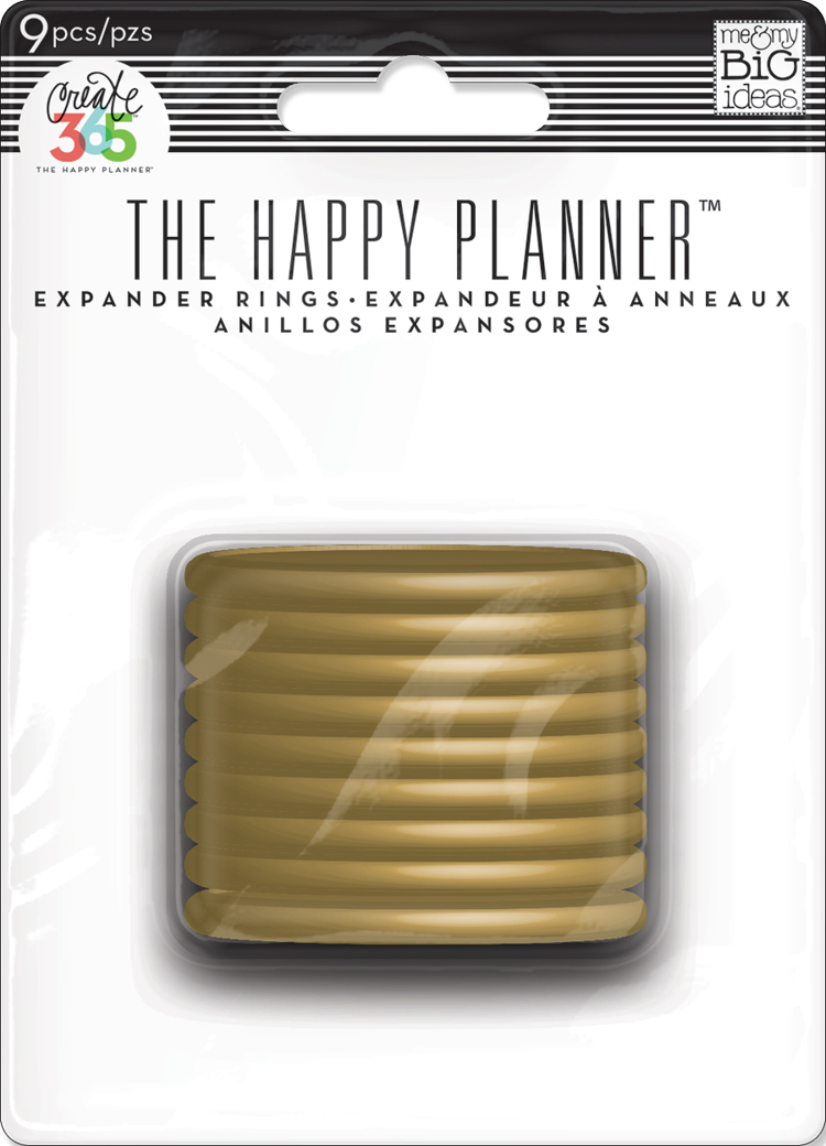 Gold Expander Discs for The Happy Planner™ | me & my BIG ideas.jpg
