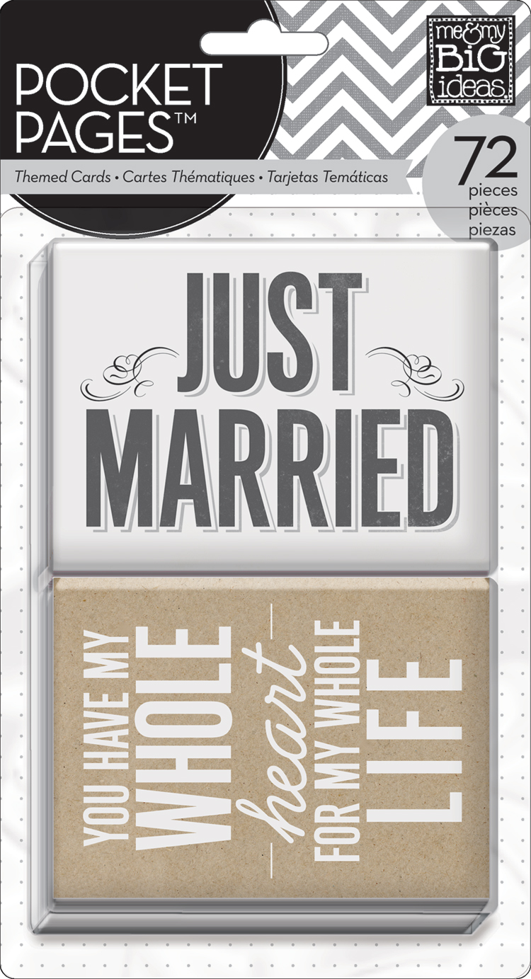 'Wedding' themed POCKET PAGES™ cards | me & my BIG ideas.jpg