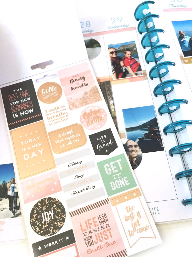 transitioning from the CLASSIC to the BIG Happy Planner