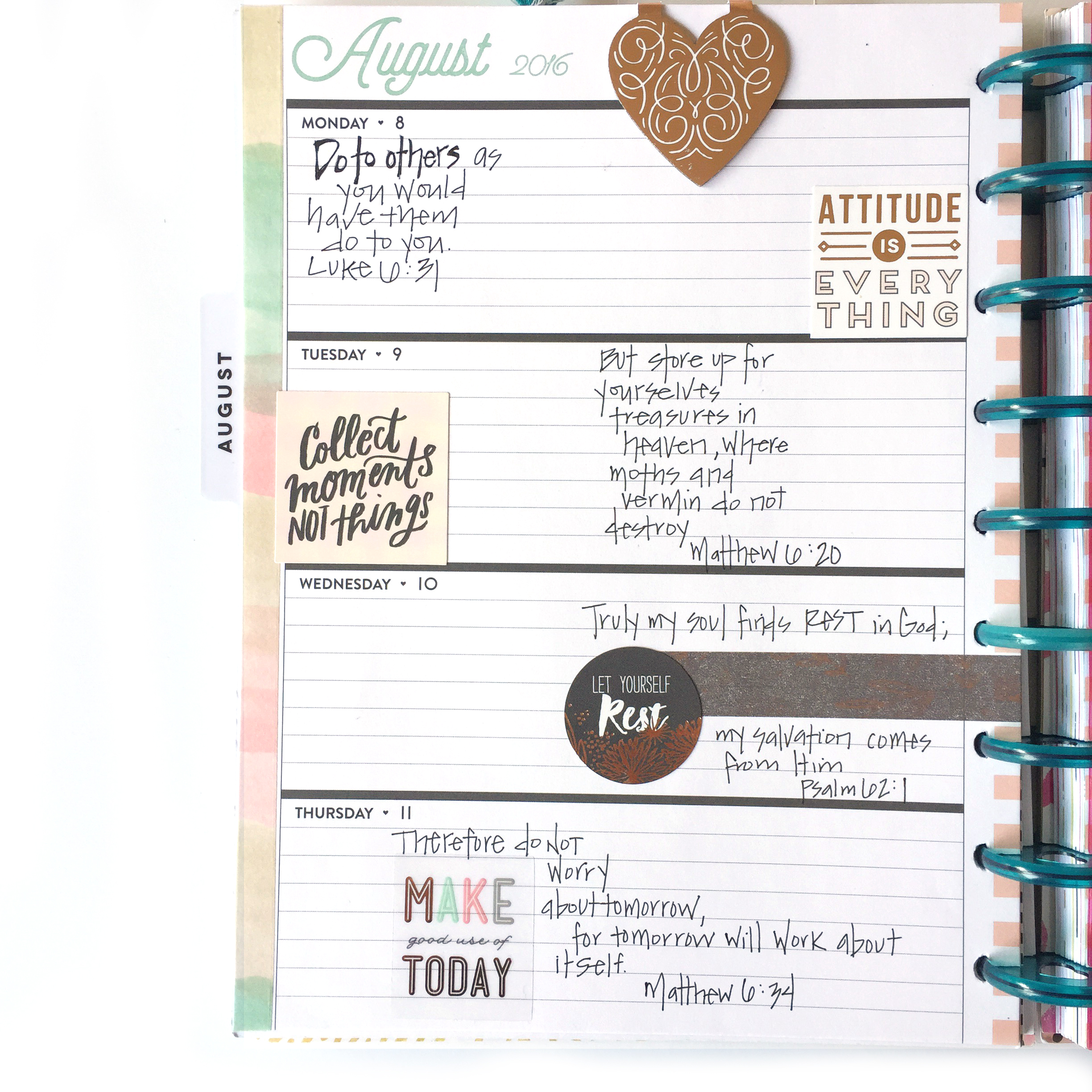 Faith planning & Bible journalling w/ mambi — me & my BIG ideas