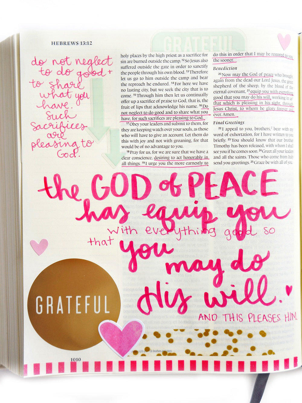 Bible Journalling using mambiSTICKS by mambi Design Team member Laura Rahel Crosby | me & my BIG ideas