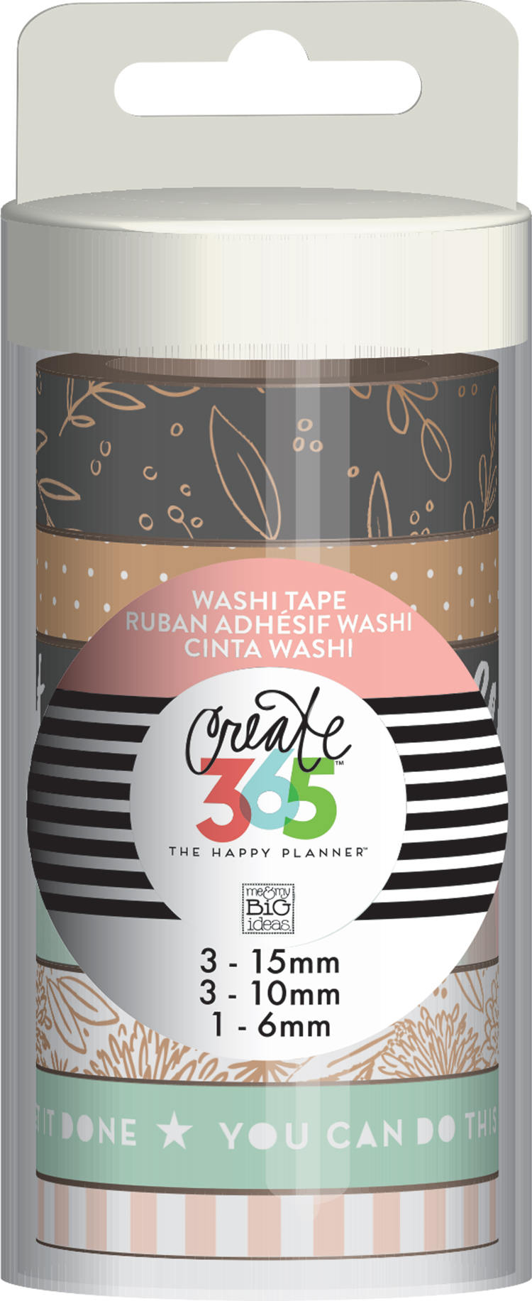 'Rose Gold' Washi Tape for The Happy Planner | me & my BIG ideas.jpg