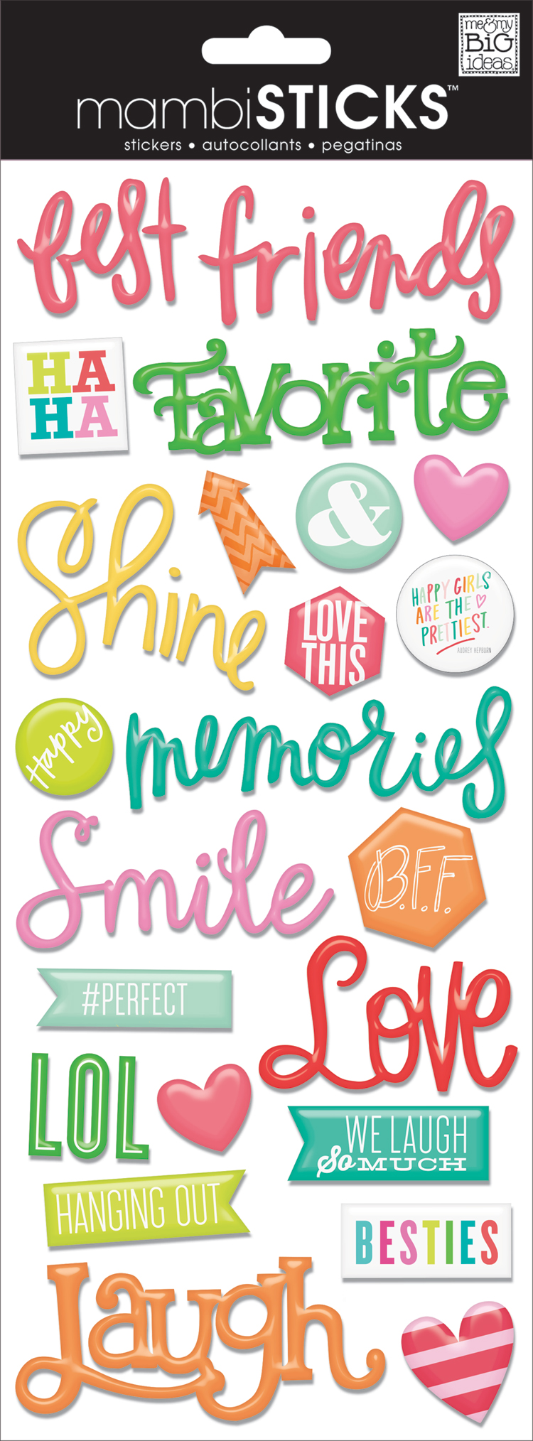 'Love' mambiSHEETS epoxy word stickers | me & my BIG ideas.jpg