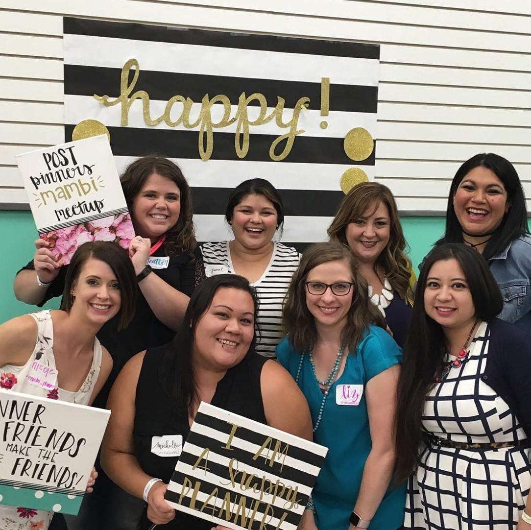 The Happy Planner™ @ Pinners Conference TX, Sept 2016 | me & my BIG ideas