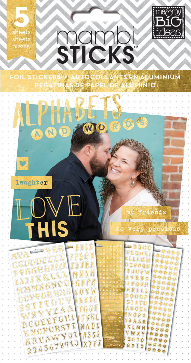 Gold Foil Alphas & Words mambiSTICKS sticker value pack | me & my BIG ideas.jpg
