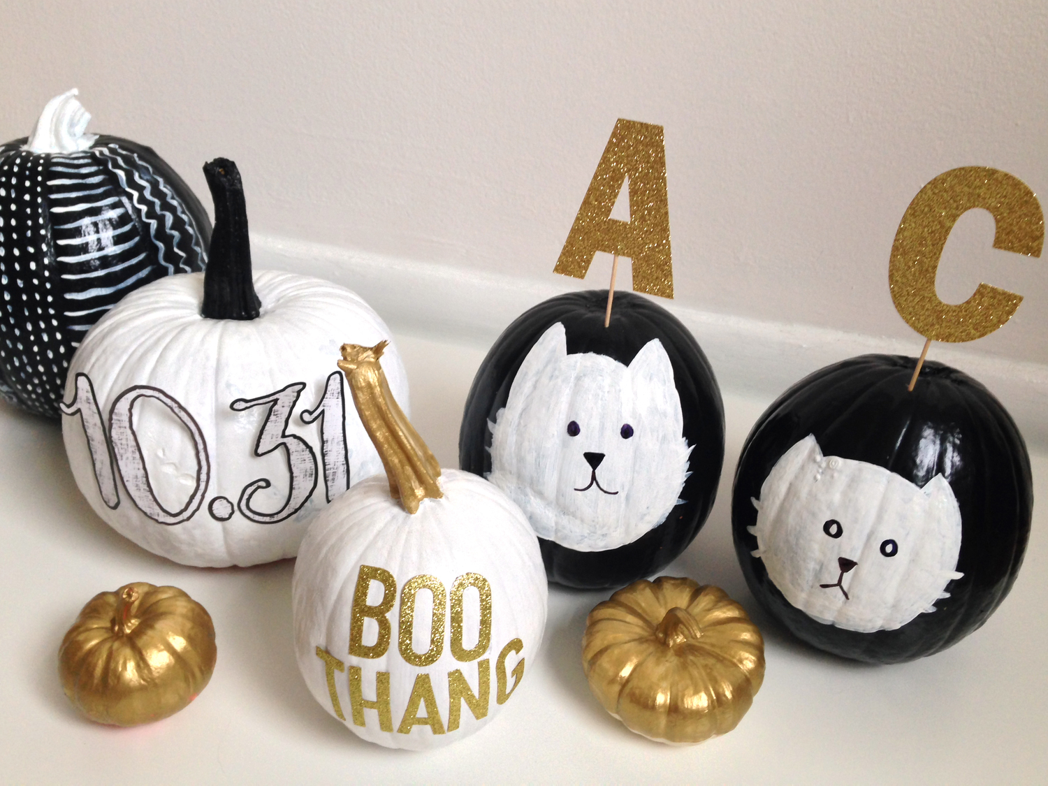 past pumpkin craft | me & my BIG ideas