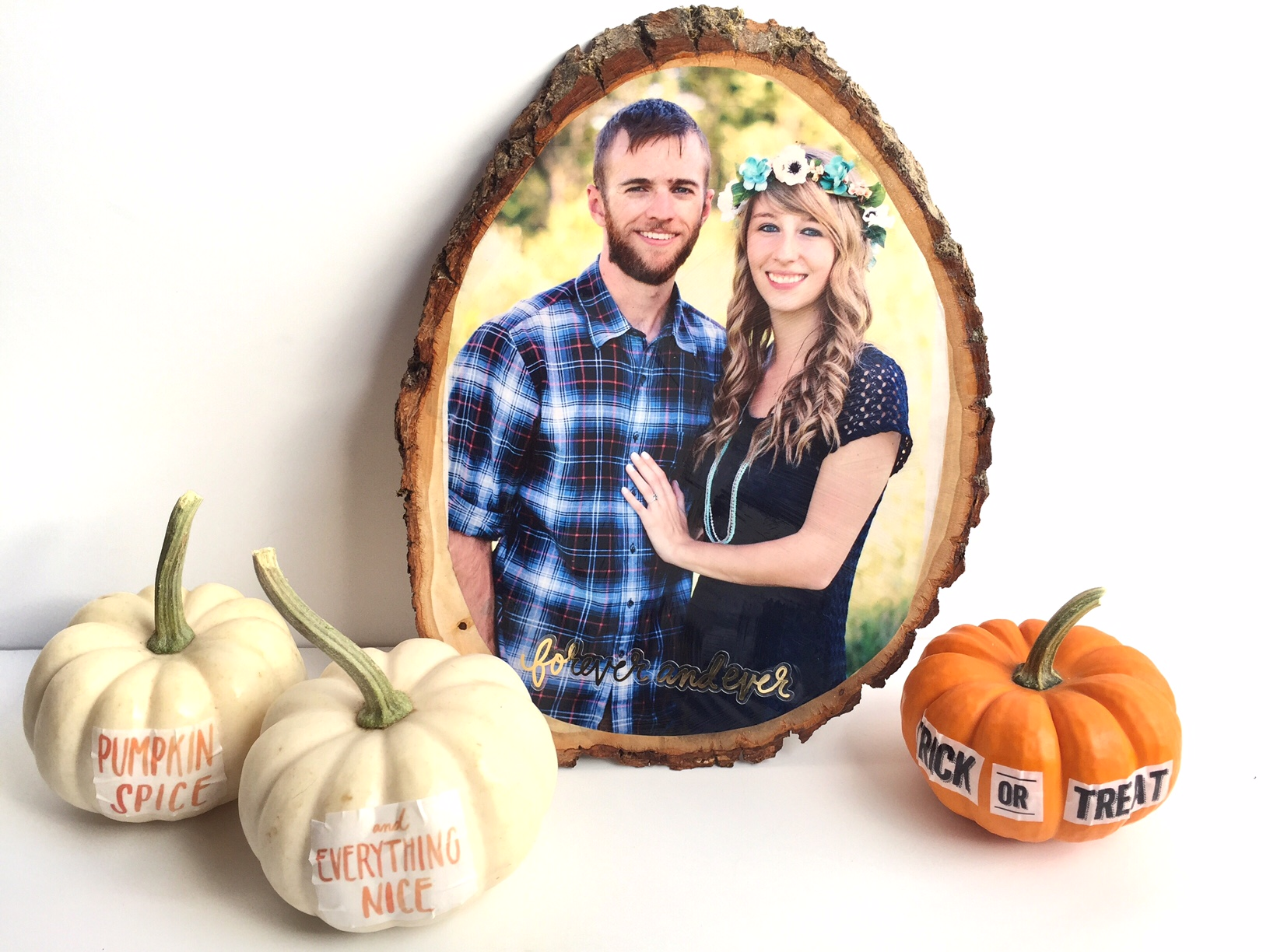 DIY Fall decor w/ water transfer paper by mambi Design Team member Megan McKenna | me & my BIG ideas