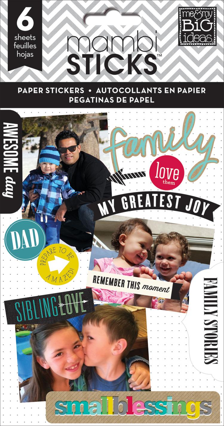'Family Love' mambiSTICKS sticker value pack | me & my BIG ides.jpg
