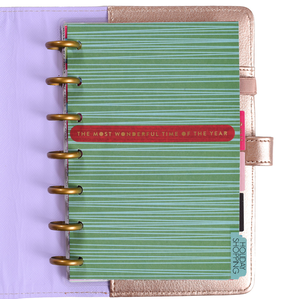 prepping for Black Friday in The MINI Happy Planner™ of mambi Design Team member Mariel Reyes   me & my BIG ideas