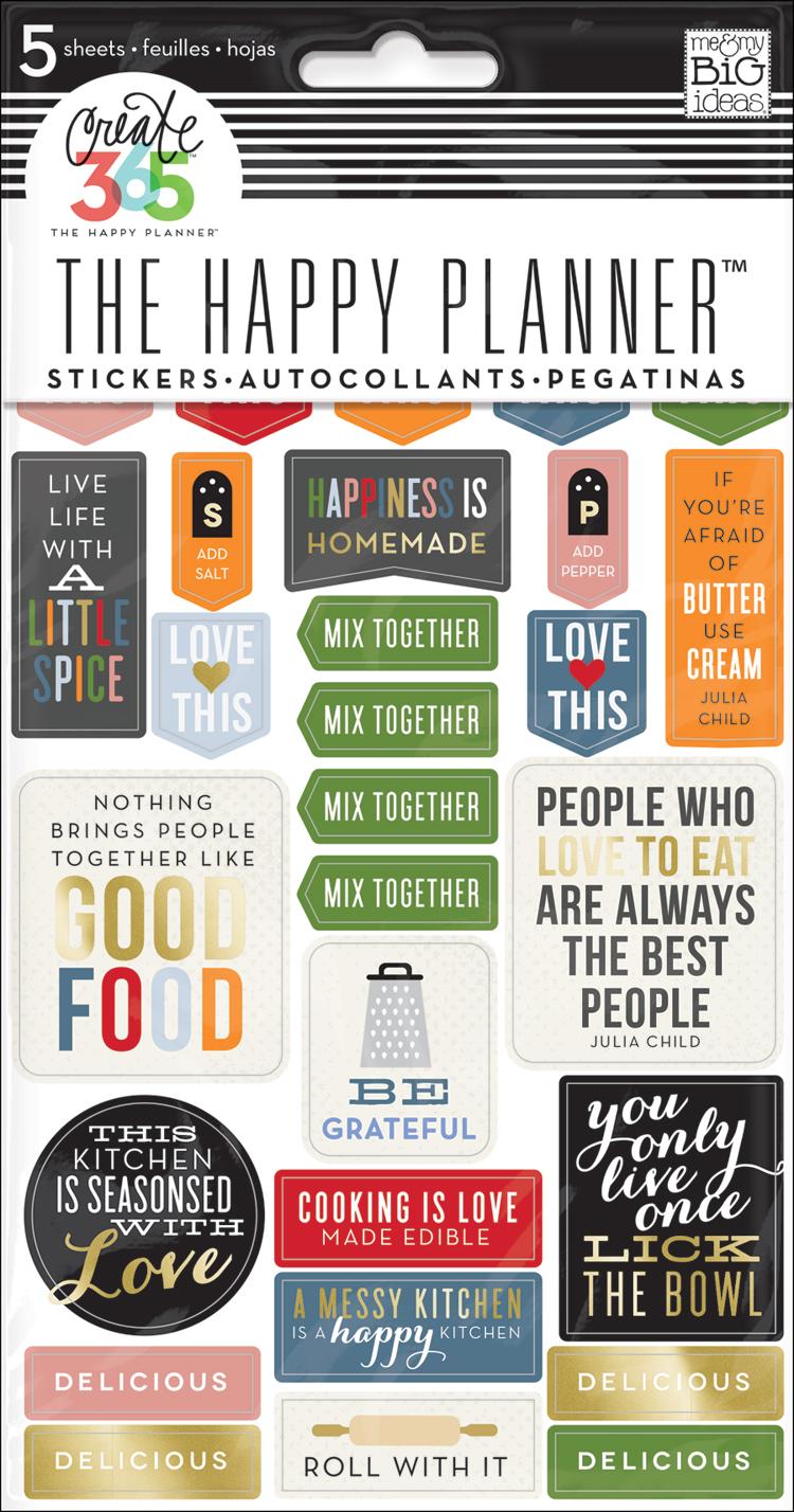 Recipe Organizer stickers for The Happy Planner™ | me & my BIG ideas.jpg