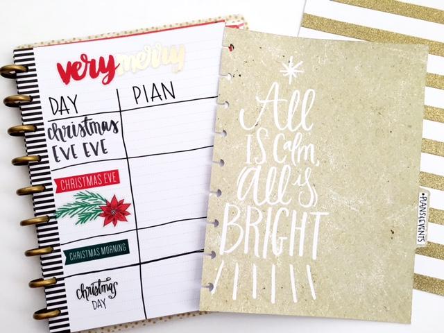 DIY December Bucket List & FULL ON Christmas Planner by mambi Design Team member Heather Kell | me & my BIG ideas