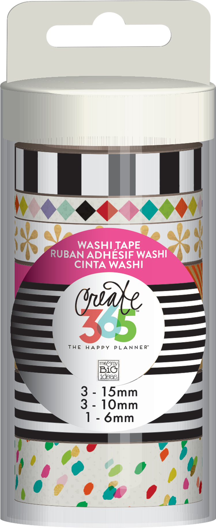 'Bright' Planner Basics™ washi tape for The Happy Planner™ | me & my BIG ideas.jpg