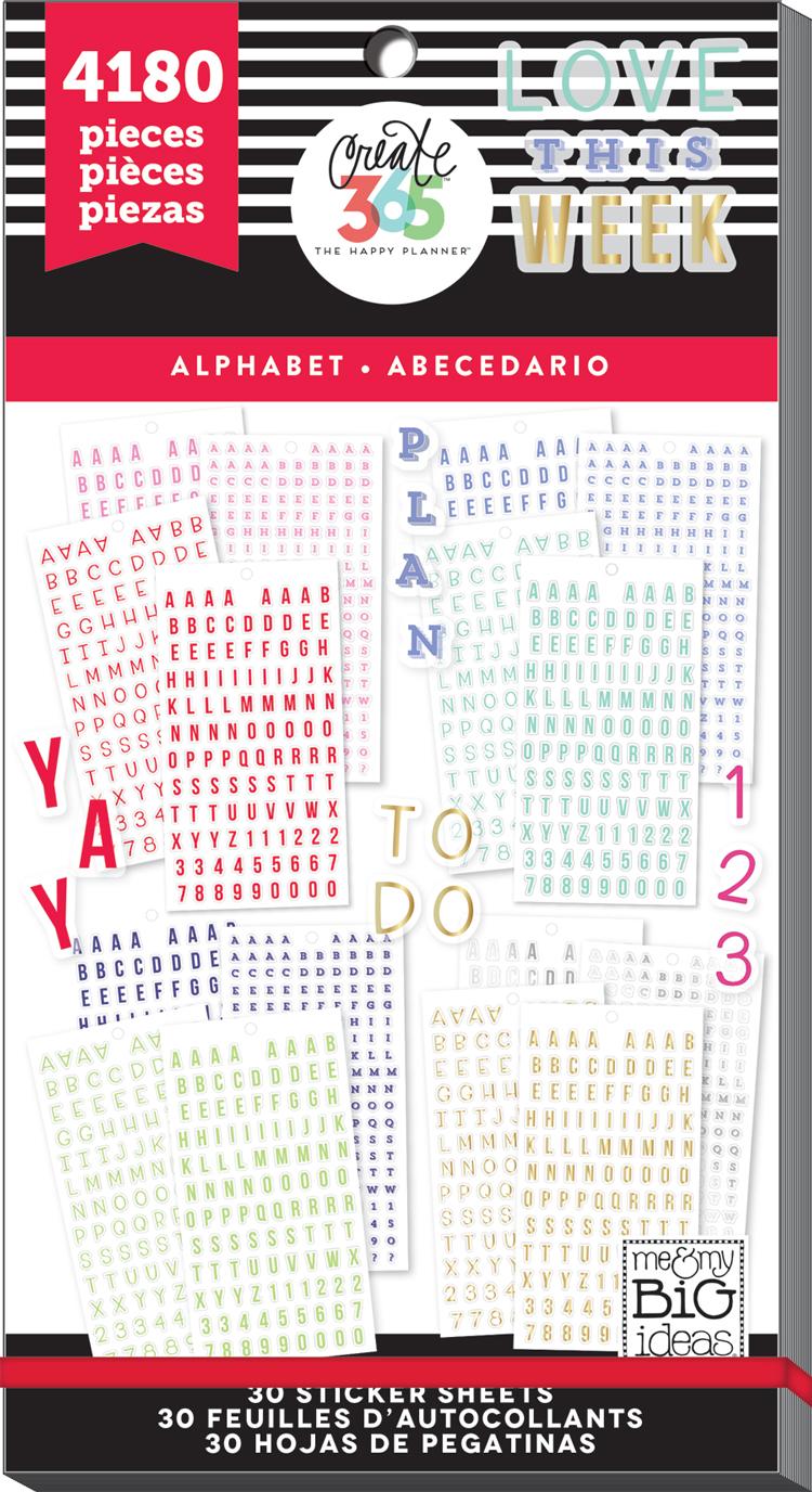 'Alphabet' MEGA Happy Planner® sticker value pack   me & my BIG ideas.jpg