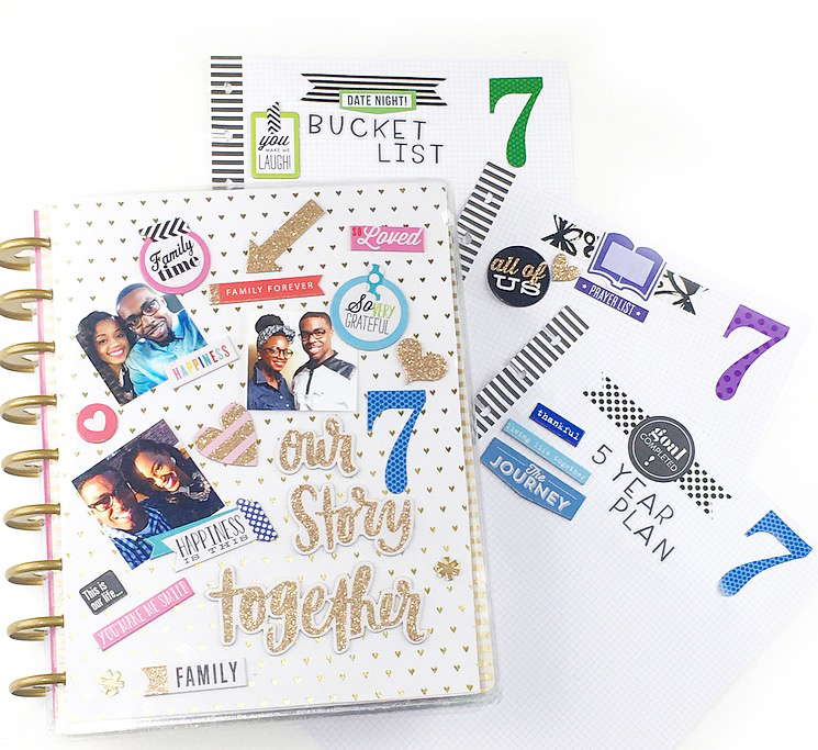 7th Year Anniversary in The Happy Planner® of mambi Design Team member Nita Patterson | me & my BIG ideas