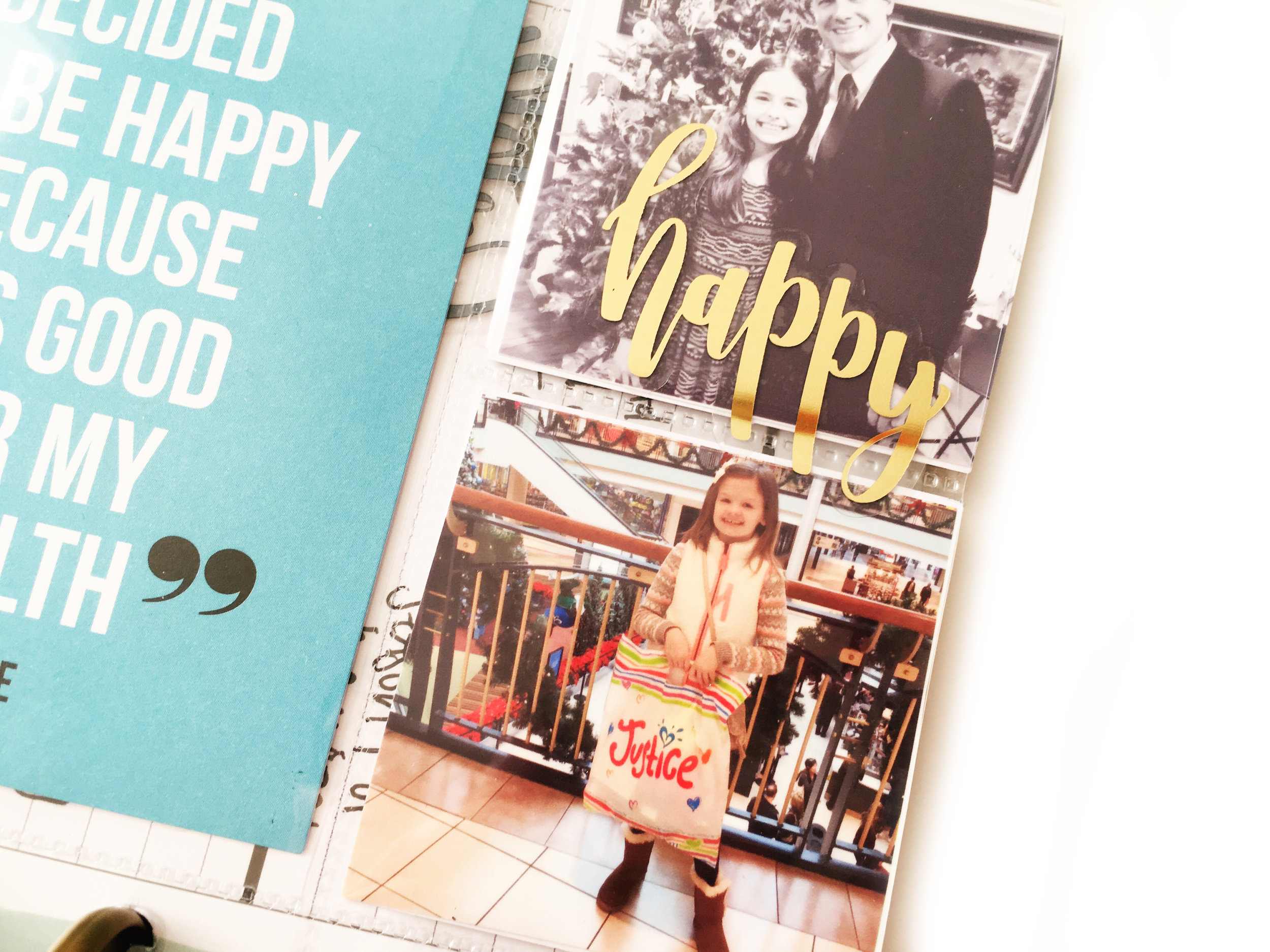 using the MINI Happy Planner® for memory keeping by mambi Design Team member Stephanie Howell | me & my BIG ideas