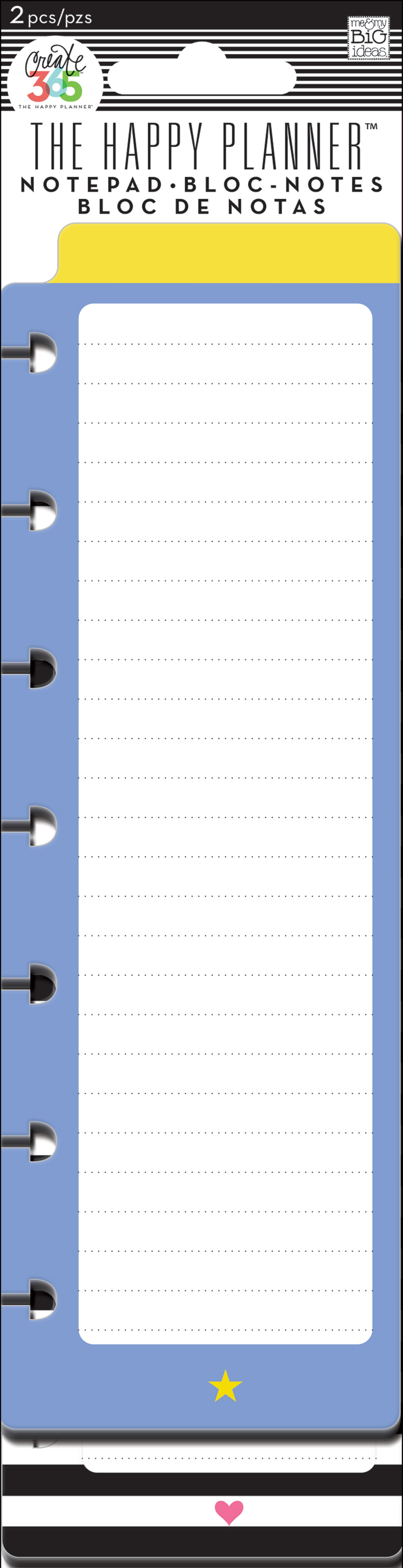 'Star & Heart' notepads for The Happy Planner™ | me & my BIG ideas.jpg