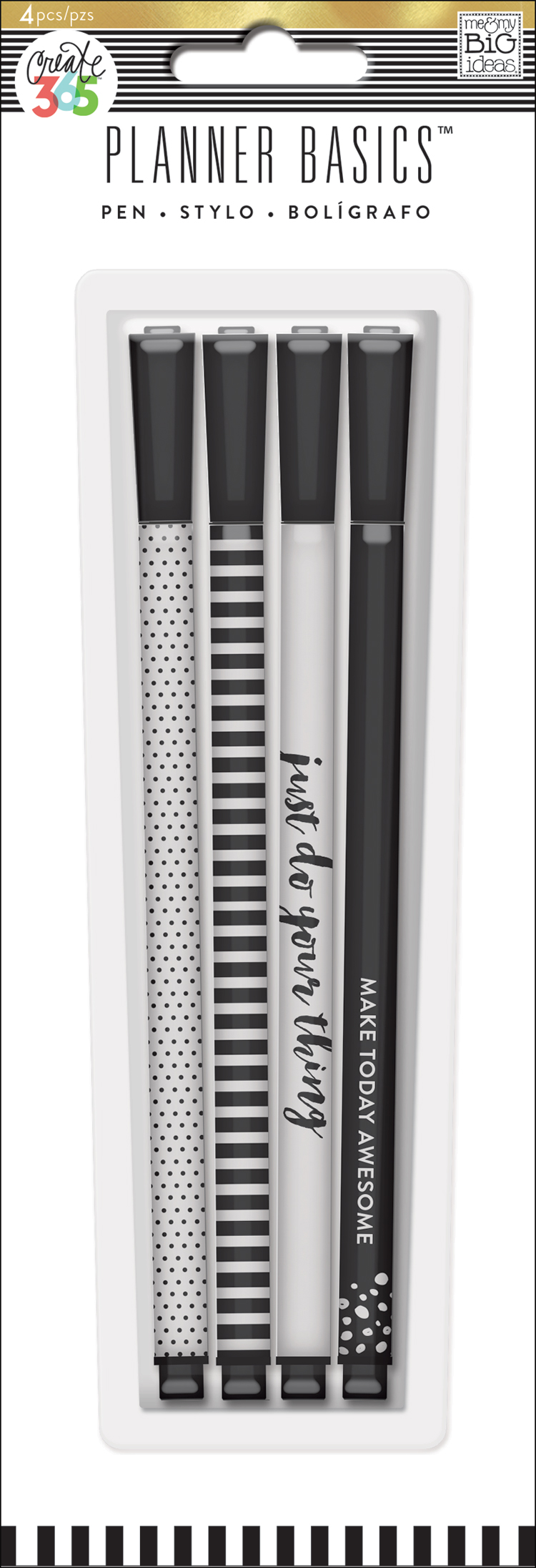 'Black & White' Planner Basics™ pens for The Happy Planner™   me & my BIG ideas.jpg
